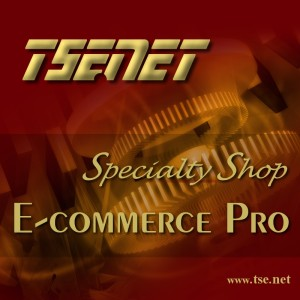 TSE.NET product E-commerce Pro Specialty Shop