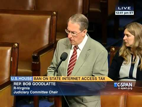 U.S. House Of Representatives Vote to Ban Internet Access Taxes Forever
